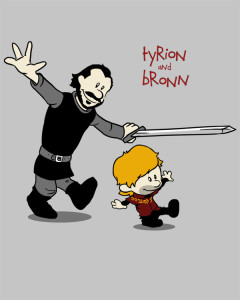 tyrion_and_bronn_by_spacemonkeydr-d5ywm81
